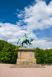 Statue of Norwegian King Carl Johan Royalty Free Stock Photo