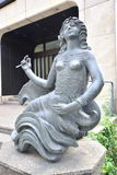 Statue of a nymph in Bamberg, Germany Stock Photo