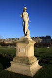 Statue of nymphe in Tuileries Garden in Paris, France Royalty Free Stock Photos