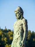 The statue of Odysseus Stock Image