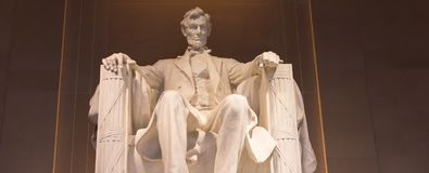 Free Statue Of Abraham Lincoln Royalty Free Stock Images - 100372549