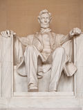 Statue Of Abraham Lincoln Royalty Free Stock Photography
