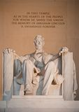 Statue Of Abraham Lincoln Stock Photography