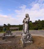 Statue Of Angel Praying Royalty Free Stock Photos