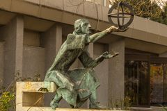 Free Statue Of Astronomer Nicolaus Copernicus Royalty Free Stock Images - 138213279