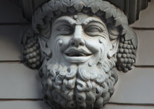 Statue Of Bacchus (Dionysus) Stock Photography