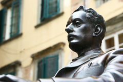 Free Statue Of Composer Giacomo Puccini In Lucca, Italy Stock Photo - 42078860