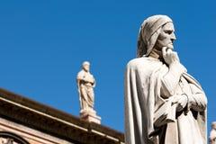 Free Statue Of Dante Alighieri In Verona - Italy Stock Photography - 77662072