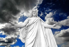 Free Statue Of Jesus Christ Royalty Free Stock Photo - 21744205