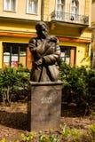 Statue Of Jozsef Attila In Budapest, Hungary Royalty Free Stock Photos