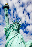 Statue Of Liberty Against Blue Sky Stock Images