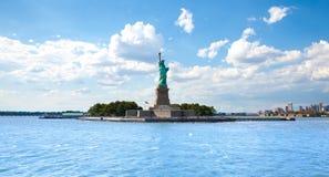 Statue Of Liberty At Eliis Island Royalty Free Stock Image