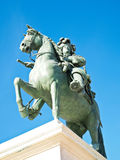 Statue Of Louis XIV, King Of France In Versailles Stock Photos