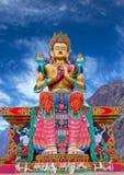 Statue Of Maitreya Buddha Near Diskit Monastery In Ladakh, India Stock Photo