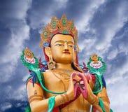 Statue Of Maitreya Buddha Near Diskit Monastery In Ladakh, India Royalty Free Stock Photos