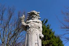 Free Statue Of Radegast, Radhost Hill / Pustevny, Beskids, Czech Republic / Czechia Stock Photography - 145406852