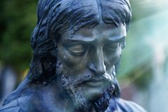 Free Statue Of Sad Jesus Christ Religion, Faith, Death, Resurrection Royalty Free Stock Photo - 111107425