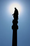 Statue Of The Blessed Virgin Mary Royalty Free Stock Photo