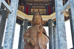 Statue Of The Goddess Of Mercy Or Guan Yin Royalty Free Stock Photos