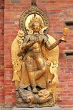 Statue Of The River Goddess Ganga In Patan, Nepal Royalty Free Stock Photo