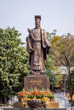 Statue of Old king Stock Image