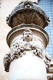 and statue in old london england Stock Photos