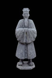 Statue of an old noble man Royalty Free Stock Photos