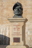 Statue of Orellana, Trujillo, Caceres province, Extr Stock Photos