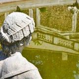 Statue ornementale. Della Regina de villa. Turin photo stock