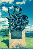Statue in Oslo, Norway royalty free stock image