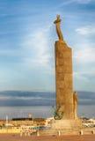 Statue in Ostende, Belgien Stockfotografie