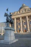 Statue Otto von Wittelsbach, in front of bavarian chancellery, m Stock Image