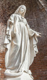Statue of Our Lady Royalty Free Stock Photography