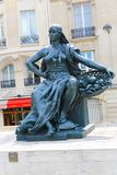 Statue outside Museum D'Orsay in Paris Stock Photo