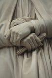 Statue outside the Uffizi, Florence, Italy Stock Photography