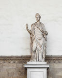 Statue outside the Uffizi Gallery Royalty Free Stock Image