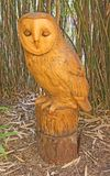 A statue of a Owl stock images
