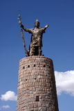 Statue of Pachacutec Stock Images
