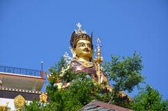 Statue of Padmasambhava in Rewalsar Royalty Free Stock Photo