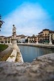 Statue a Padova, Italia Immagine Stock