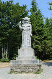 Statue of Pagan God Radegast Stock Images