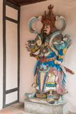 Statue at the Pagoda of the Celestial Lady in Hue Vietnam - Chua Royalty Free Stock Images