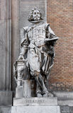 Statue of the painter Velázquez Royalty Free Stock Image