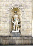 Statue on the Palace of Culture and Science Royalty Free Stock Images