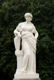 Statue. At Palanga Amber Museum in Lithuania royalty free stock photo