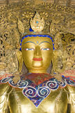 Statue in Palkhor Monastery Royalty Free Stock Images