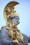 Statue of Pallas Athena in Vienna, Austria Royalty Free Stock Image