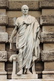 Statue of Papiniano royalty free stock images