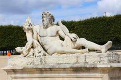 Statue - Paris Photographie stock libre de droits