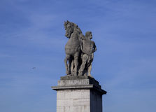 Statue, Paris Royalty Free Stock Photography